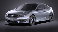 honda civic coupe c4d