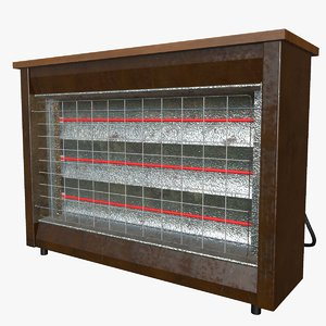 3d quartz house heater