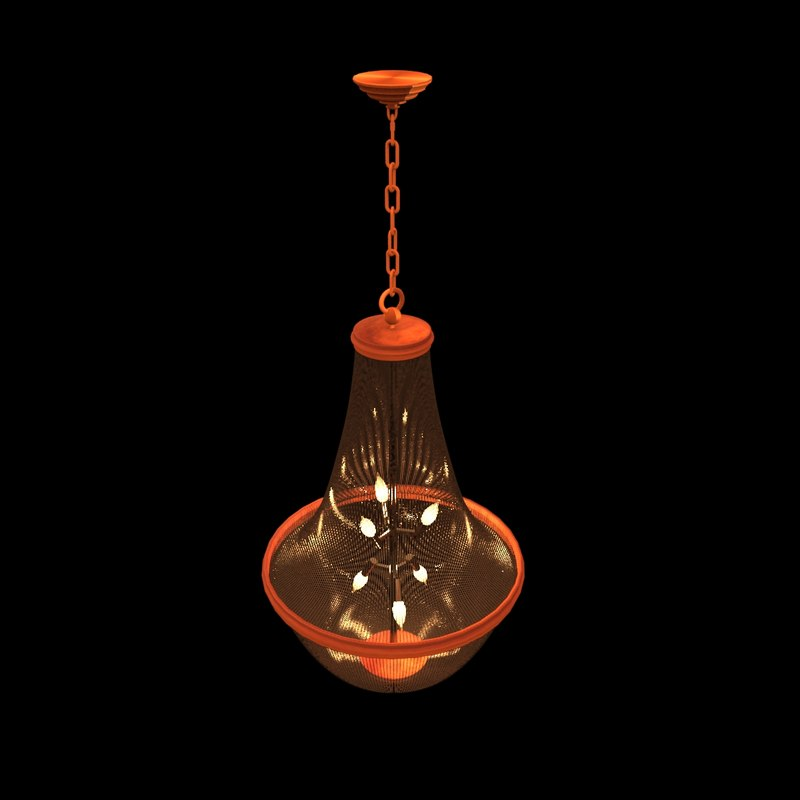 chinese lamp 3d ma