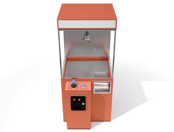 claw machine arcade c4d