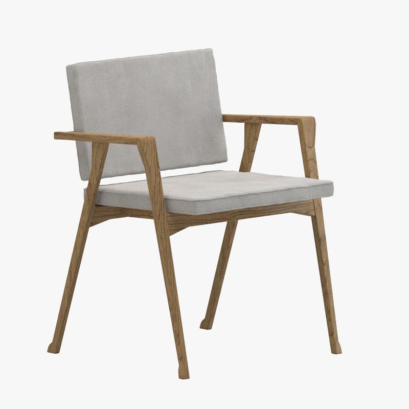 3d model chair 28