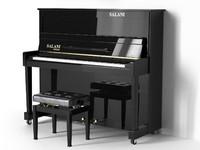 3d model piano salani cento fe