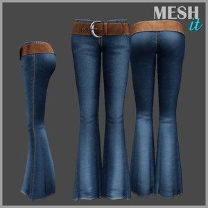 pants belt 3ds