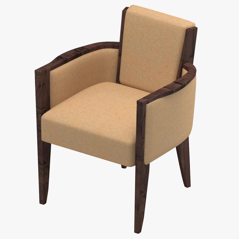 chair 34 3d max