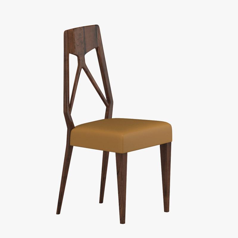 3d chair 36 model