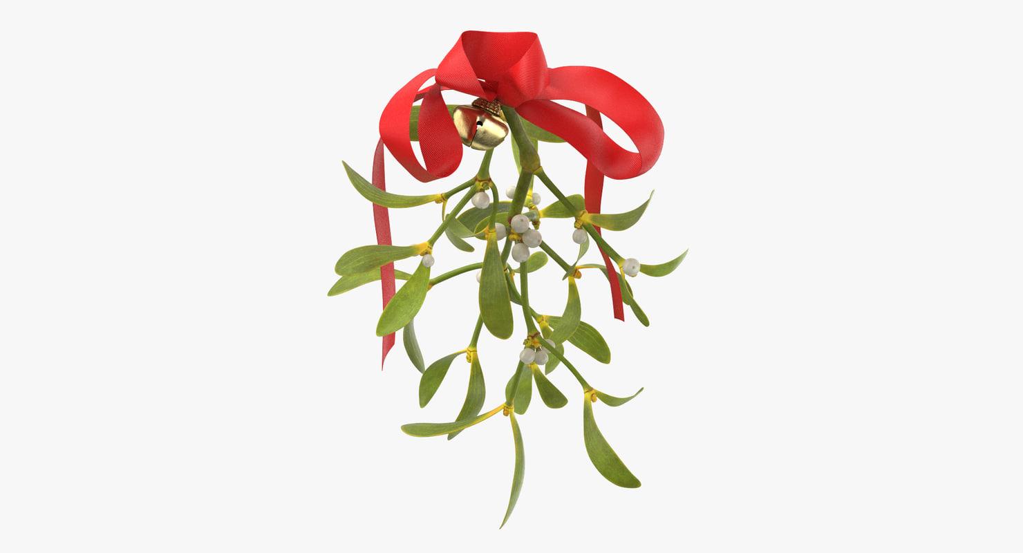 ma mistletoe ribbon