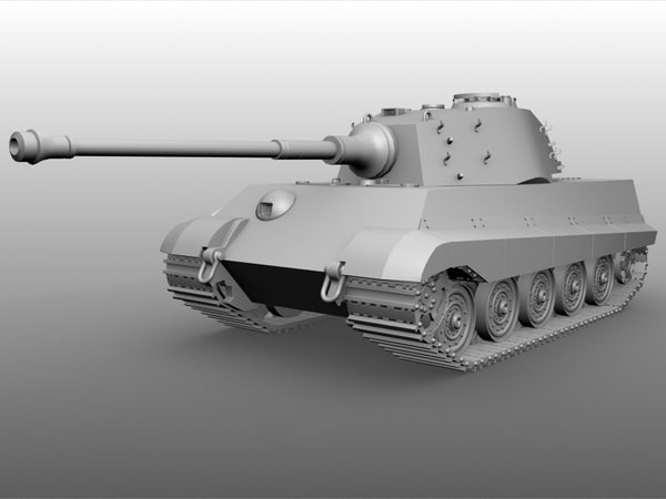 german tank tiger 2 max