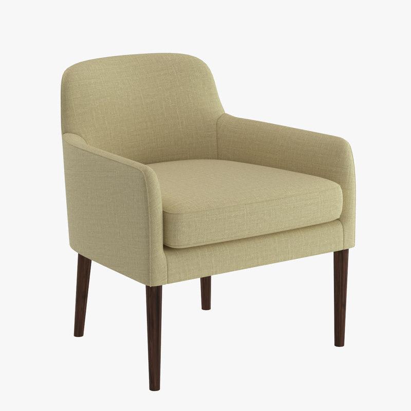 chair 22 3d max