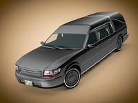 3d hearse