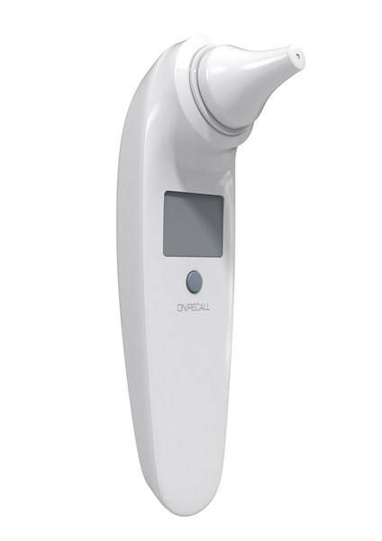 3d infant ear thermometer model