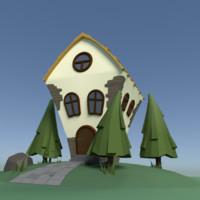 3d model tale house