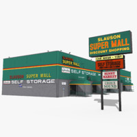 slauson super mall 3d model