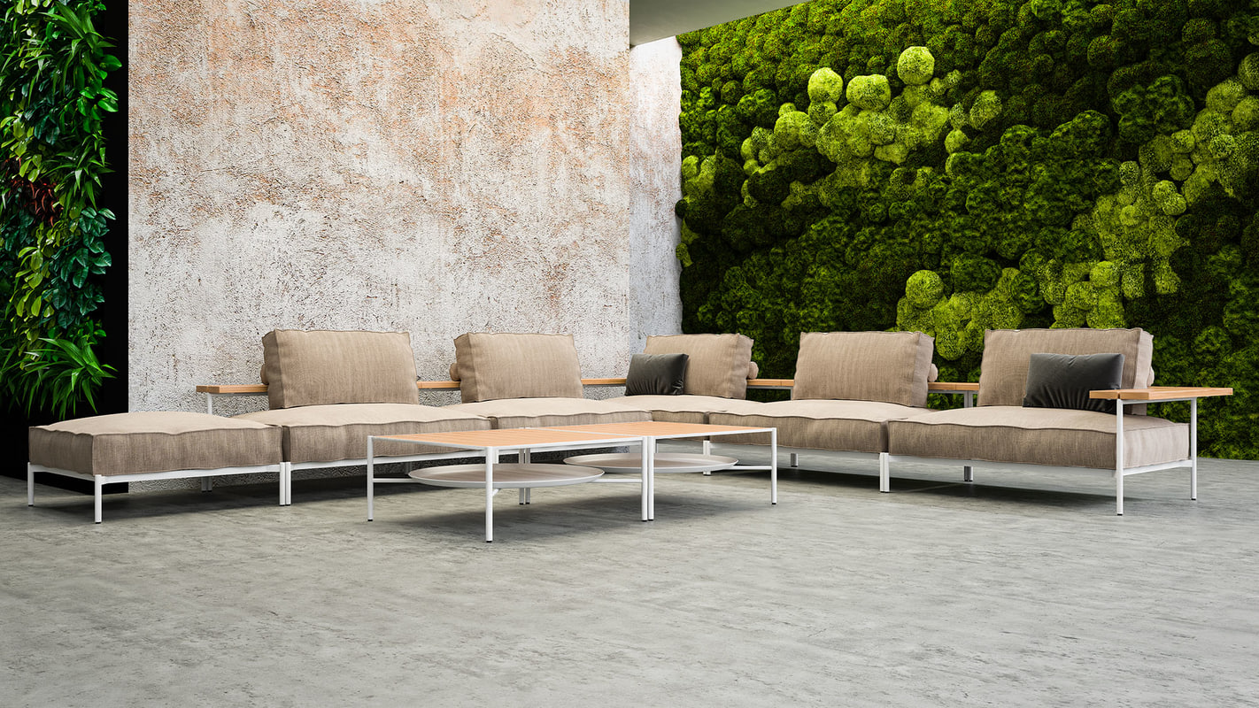 3d model sofa - eleganto
