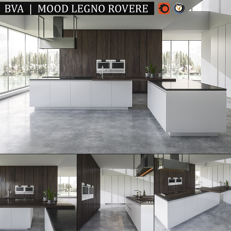 max kitchen bva mood legno
