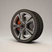 3d model concept rim