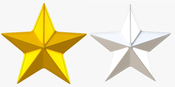 dxf golden star silver