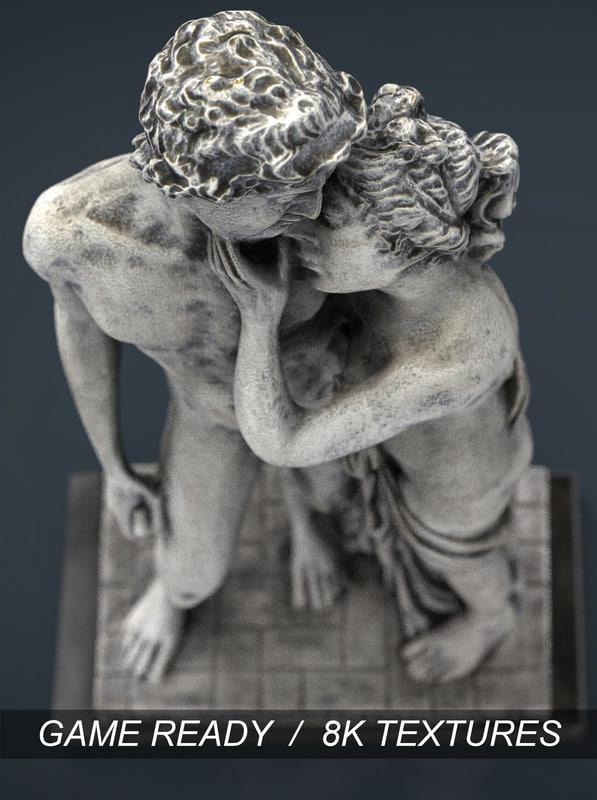 greek lovers 3d max