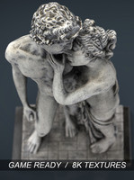 greek lovers 3d max