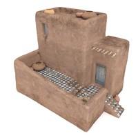 desert house 3d max