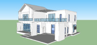 3d model 3 house