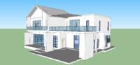 3 house modern