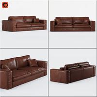 3d sofa santorini
