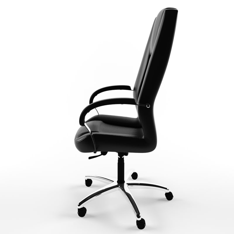 armchair - president 3d model