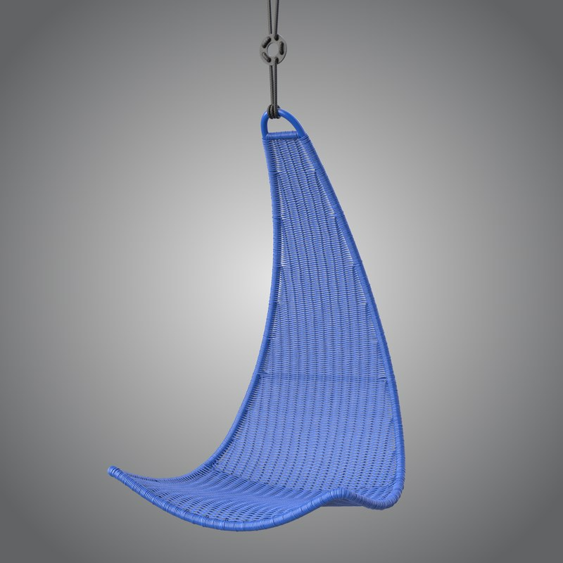 & 3d model hanging seat ps svinga