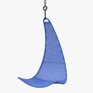 3d model hanging seat ps svinga