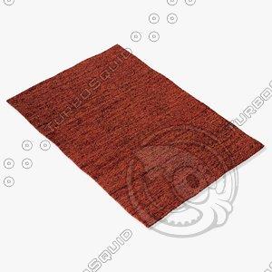 3d amara rug smart flat model