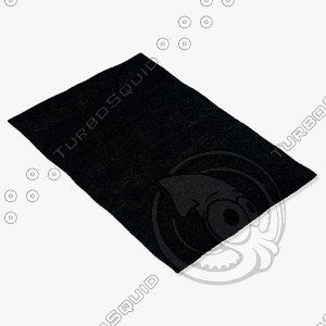 3d model amara rug smart hmp-b
