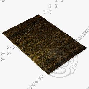 amara rug smart hmp-gn 3d model