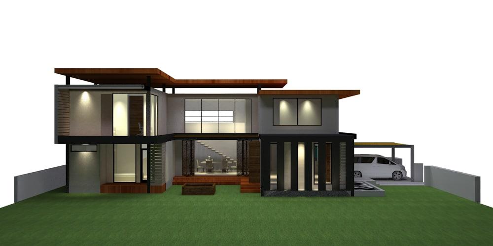 3d tt house