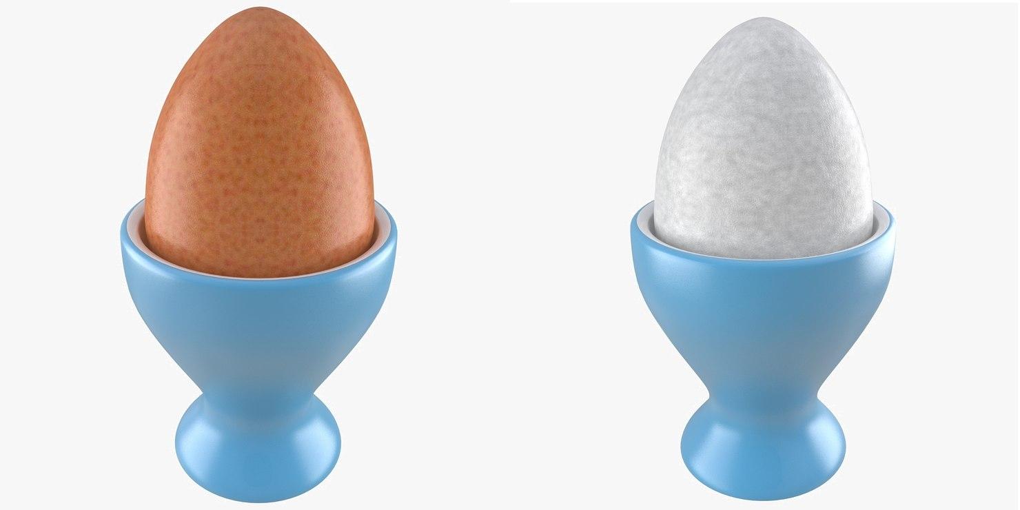 3d soft boiled egg