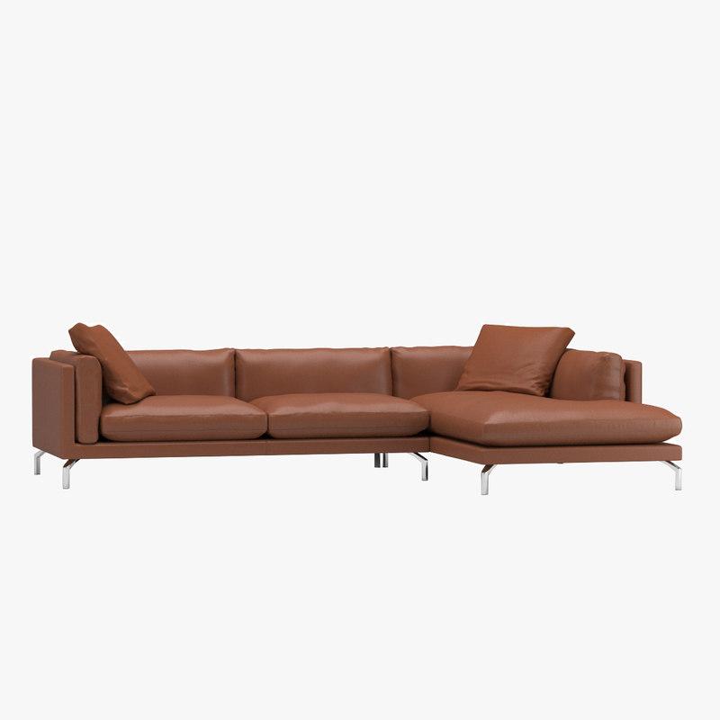3d model como sofa