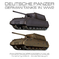 3d maus - german tank model