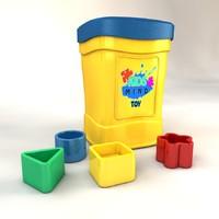 toybox 3d model