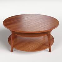 3d circular table 1 model