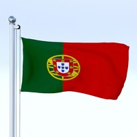 Animated Portugal Flag