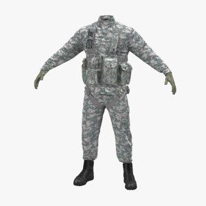 helicopter pilot uniform camo 3ds