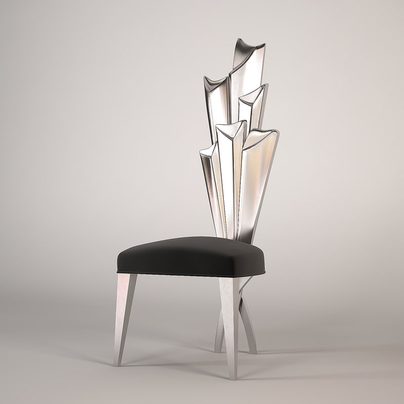 christopher guy modern chair 3d model