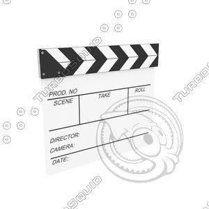 film slate 3d max