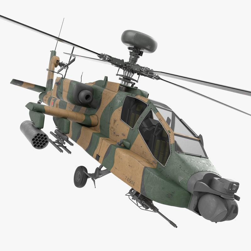 max ah-64d apache longbow japan