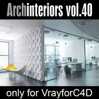 Archinteriors for C4D vol. 40