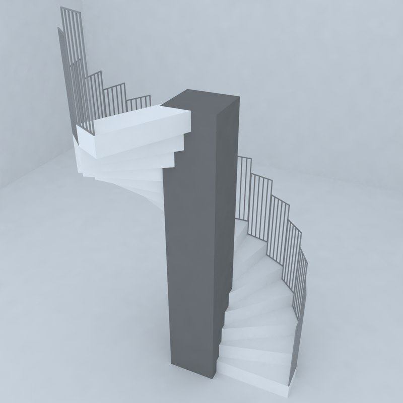 3d stairs architectural design