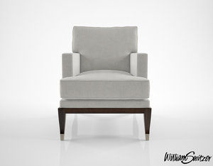 3d model william switzer large chaise