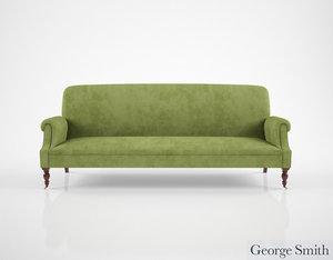 3d george smith dahl sofa