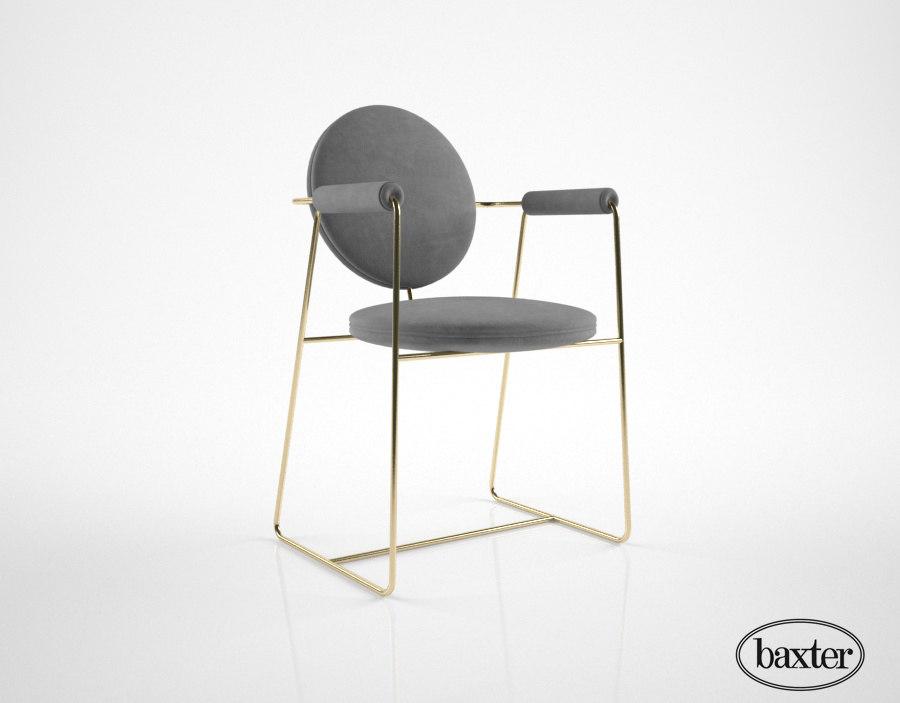 3d baxter gemma chair