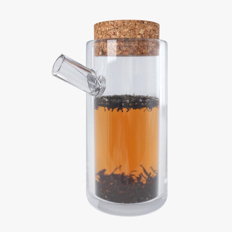 3d model tea teapot pot