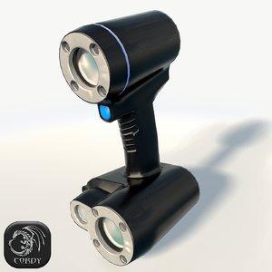 scanner goscann 3d 3ds